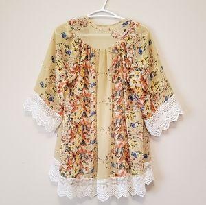 Boho OOAK Kimono